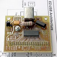 Photo of FX2 board