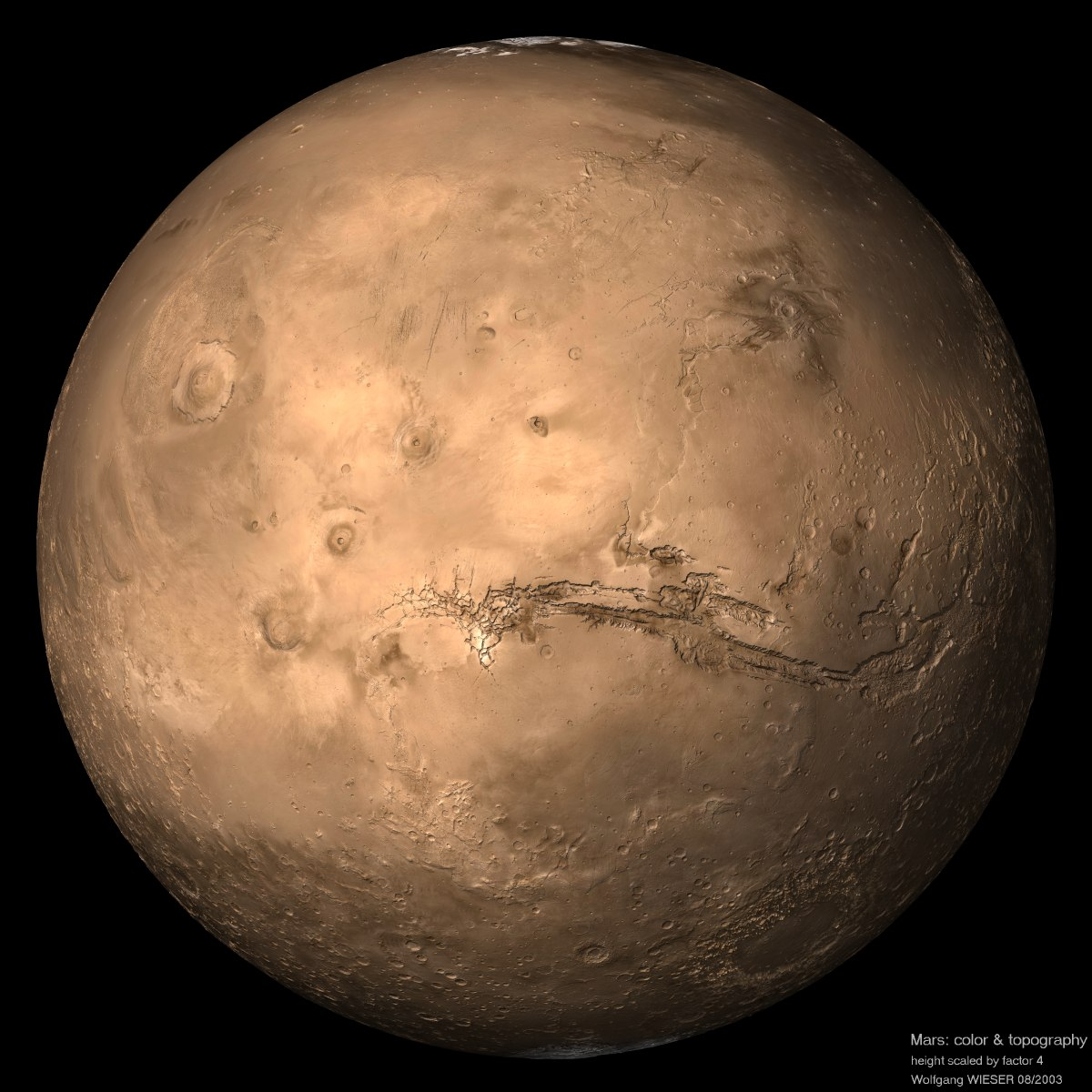 color of mars planet - photo #7