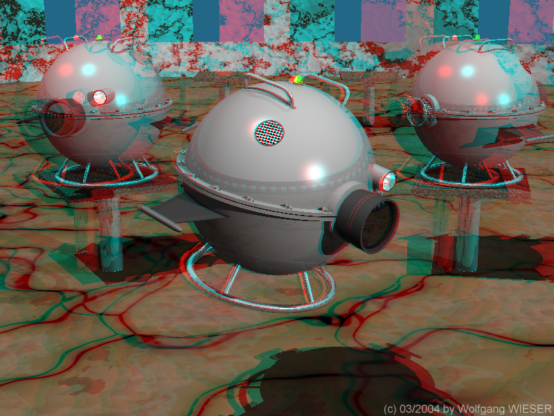Creating Anaglyphs From Left Right Image Pairs