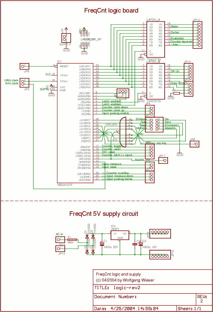 Frequency counter: Logic schematic on ring counter circuit diagram, frequency generator, frequency formula, digital watch circuit diagram, frequency counter flow chart, basic circuit diagram, frequency diagram example,