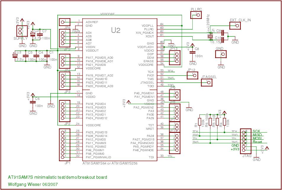 AT91SAM7S256 USB DRIVERS UPDATE