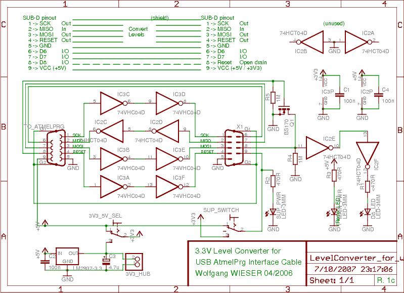3 3v level converter circuit schematic [20kb]