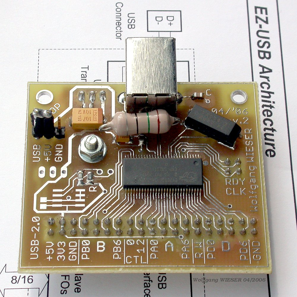 Electronics Usb Fx2 Interface Board 20 Circuit Also Power Diagram Moreover Schematic Revision 2